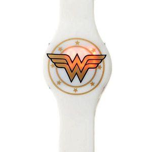 MONTRE Montre LED Emblem en or blanc officiel de Wonder W