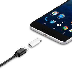 CÂBLE TÉLÉPHONE 10Pack USB-c type-c à micro USB adaptateur de char
