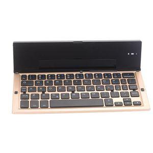 CLAVIER D'ORDINATEUR Portable pliable pliant mini clavier sans fil Blue