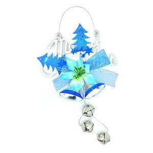 Étoile de Noël avec Sleigh Bells-grande pendaison décoration-Travail Cloches