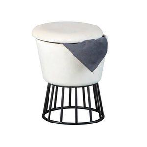 TABLE BASSE Table basse 110x62x43 cm en bois recyclé multicolo