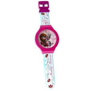HORLOGE - PENDULE Horloge murale La Reine des Neiges XL 47 cm montre