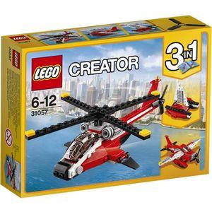 ASSEMBLAGE CONSTRUCTION LEGO® Creator 31057 L'Hélicoptère rouge