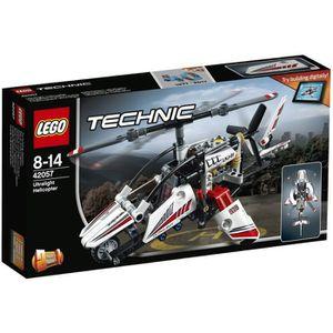 ASSEMBLAGE CONSTRUCTION LEGO® Technic 42057 L'Hélicoptère Ultra-Léger