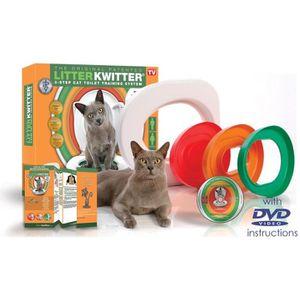 MAISON DE TOILETTE LITTER KWITTER Kit de toilette pour chats