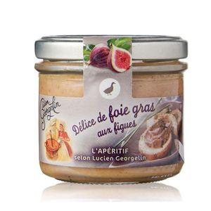 FOIE GRAS LUCIEN GEORGELIN Délice de foie gras aux figues -