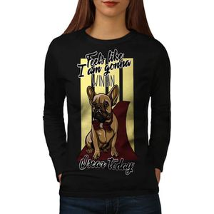 T-SHIRT français Chien Bouledogue Animal Women  T-shirt à
