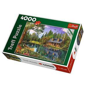 PUZZLE Puzzle 4000 pièces Après-Midi Idyllique dans le Co