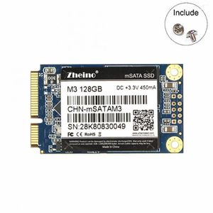 DISQUE DUR SSD interne SSD M3 128Go MSATA 3D TLC NAND FLASH