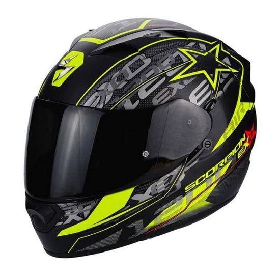 SCORPION Casque Integral Exo 1200 Solis Noir