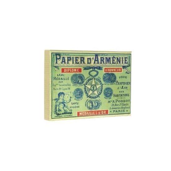 Papier D Armenie Coffret Vintage 1900 Et Ses 12 Carnets Achat Vente Encens Cdiscount