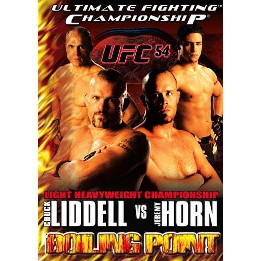DVD Ufc 54