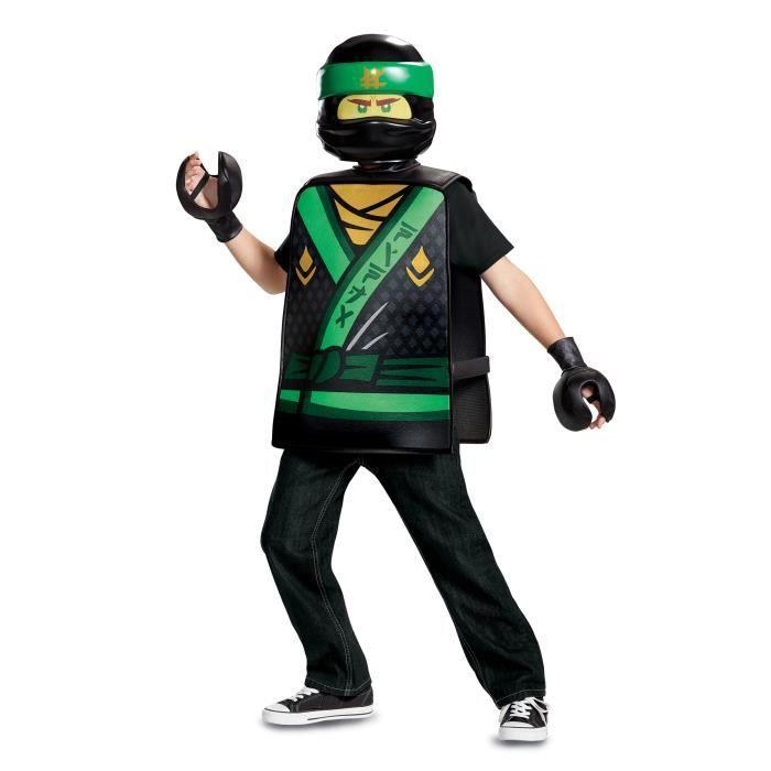 Déguisement Lloyd Ninjago LEGO® vert enfant