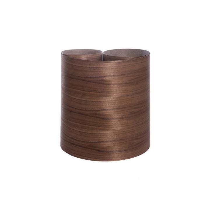 Placage à coller NOYER PLACNOR 0.50 M X 2.50 ML FR
