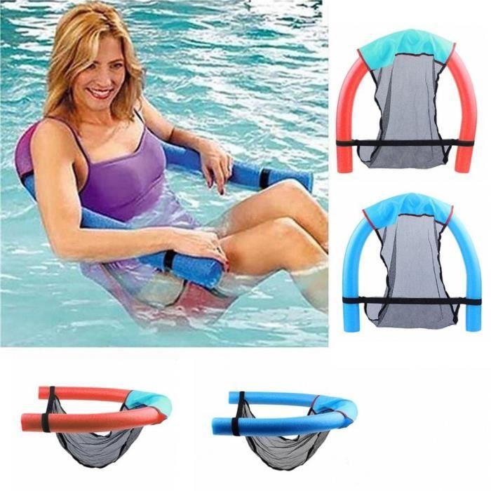 Portable piscine Super flottante en plastique mousse flottante chaise flottante fournitures d'eau pou - Modèle: Rouge - TEYYQA11439