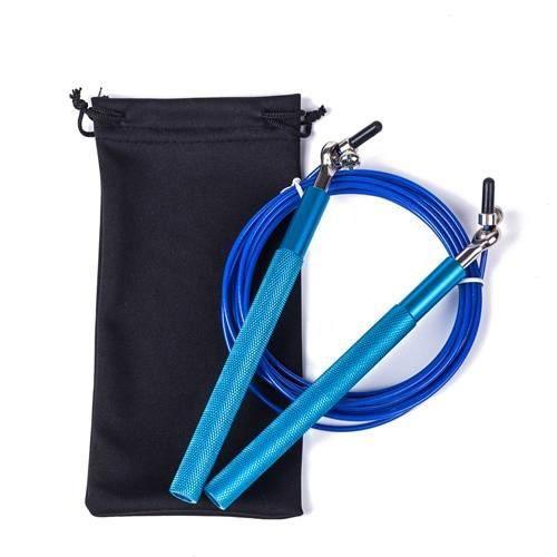 Accessoires Fitness - Musculation,Crossfit corde à sauter Ultra vitesse roulement à billes corde à sauter fil d'acier - Type Blue