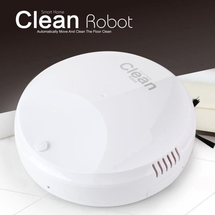 Vide rechargeable automatique intelligent Robot Nettoyeur de bord de nettoyage d'aspiration Sweeper_qi992 A30631
