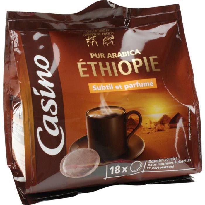 Lot de 18 Dosettes espresso - Ethiopie - 125 g
