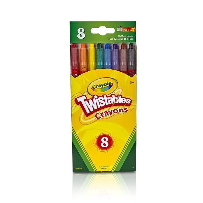 Crayola Twistable Crayons, Multicolore, 20.26 x 8.99 x 1.19 cm - 52-7408