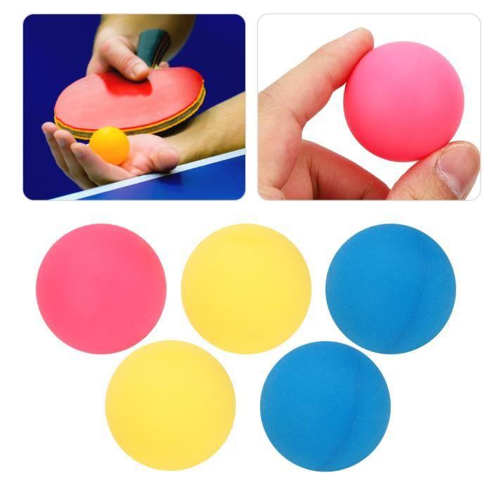 Jielwyshop 6Pcs-Jeu REGAIL Balles de Tennis de Table en Plastique ABS 3 Étoiles pour Sports Formation de Ping-Pong