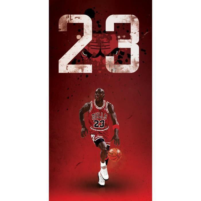 Poster Affiche Michael Jordan 23 Chicago Bulls Basket Superstar GOT 61cm x 119cm