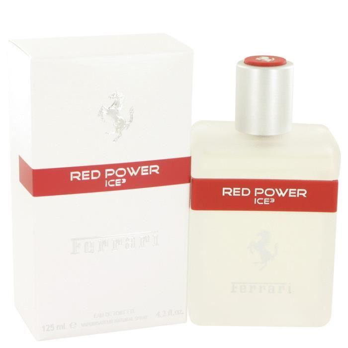 Ferrari Red Power Ice 3 125 ml - Eau De Toilette Vaporisateur Homme