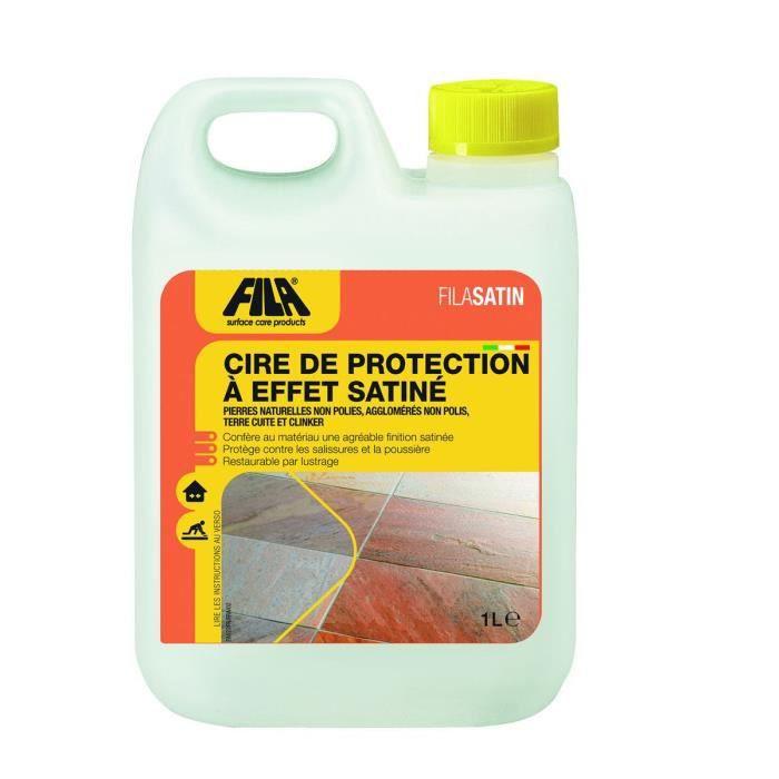 Cire de protection à effet satiné FILASATIN - Le Bidon de 5 Litres