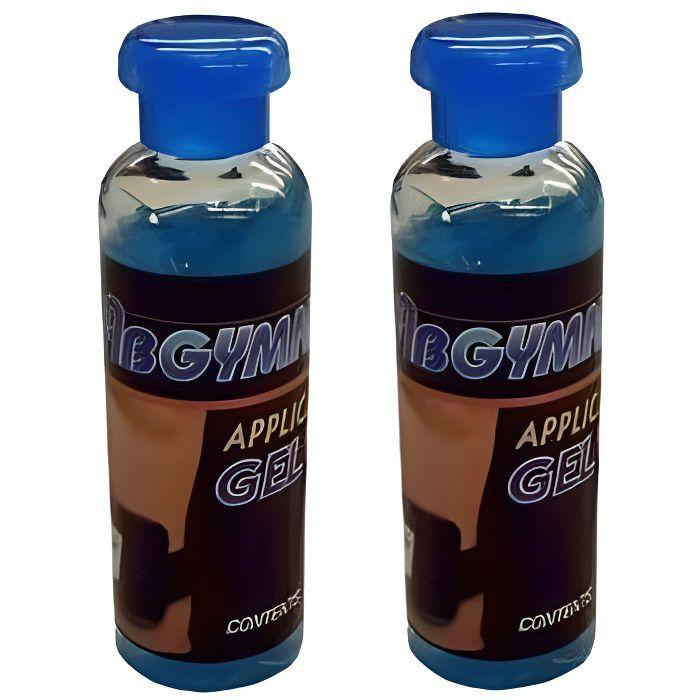 ABGYMNIC Lot de 2 flacons de gel conducteur pour appareils TENS, EMS et la plupart des système de tonification à électrode 100 ml