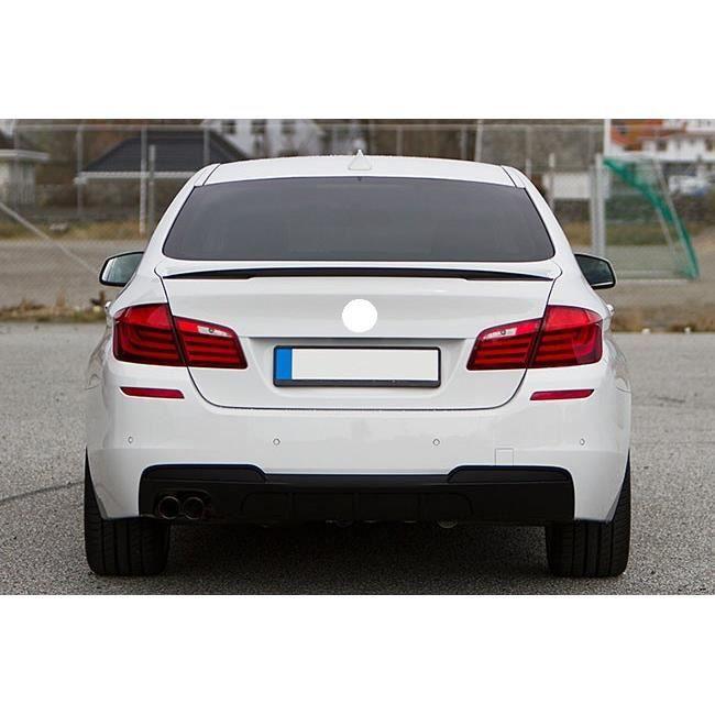 Aspect fibre de carbone BMW M5 F10 F11 avant PHARES Sourcils Brillant Fibre Tuning