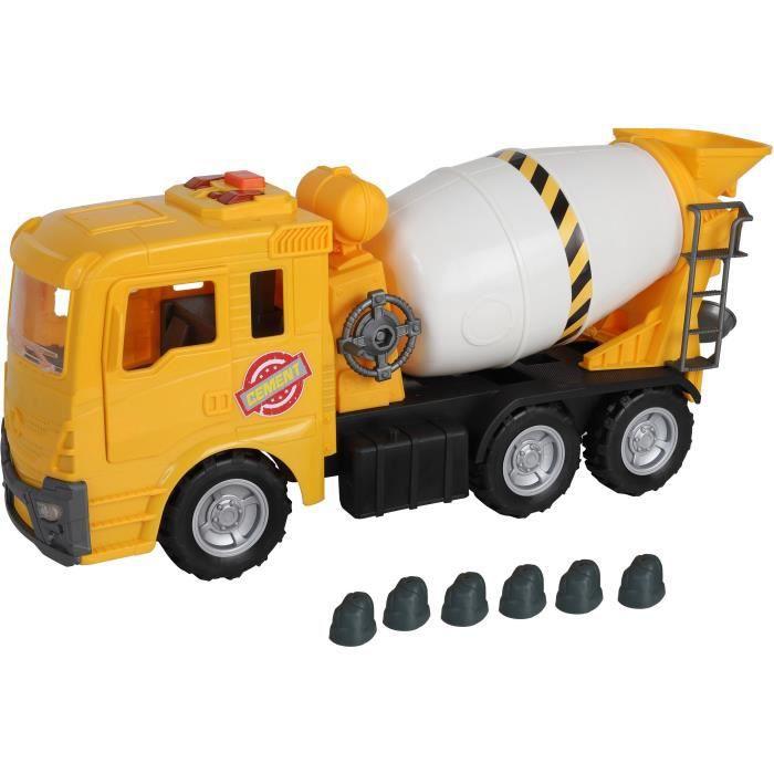 Motor Shop Camion toupie à béton - 52 cm