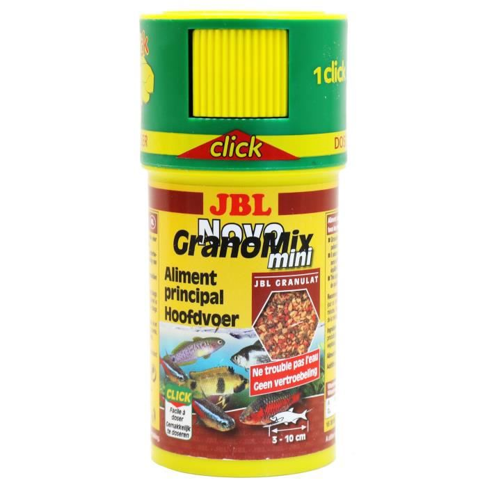 JBL Nourriture en granulés Novogranomix - Pour poisson d'aquarium - 100ml