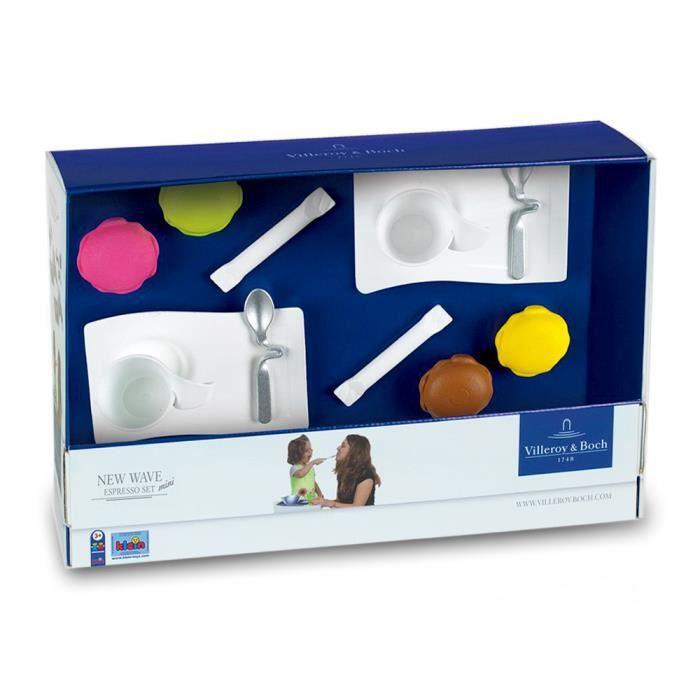 Dinette Villeroy & Boch : New Wave Mini Espresso Set : 12 accessoires