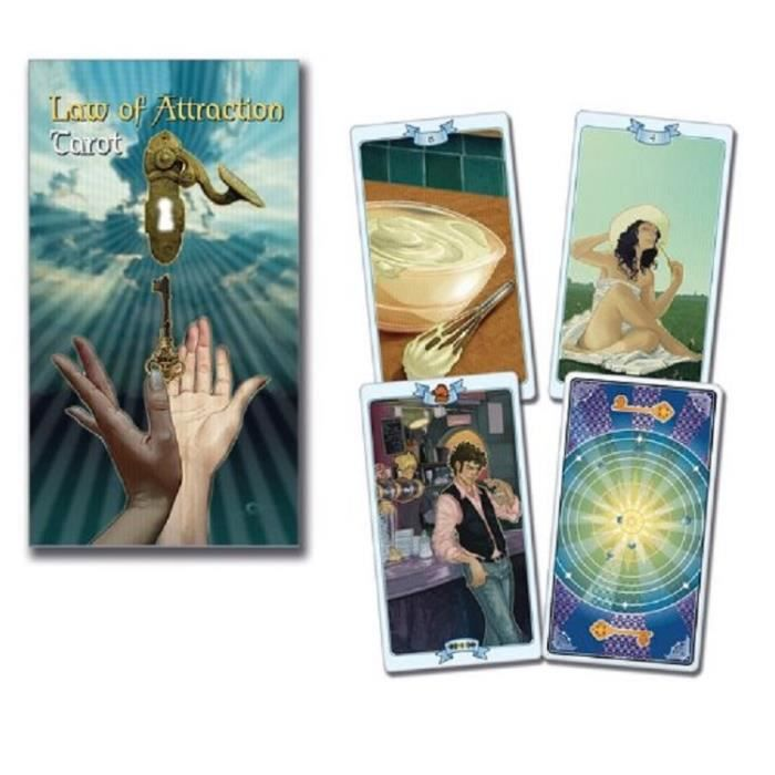 Tarot de la Loi de l'Attraction - 78 Cartes + Livret