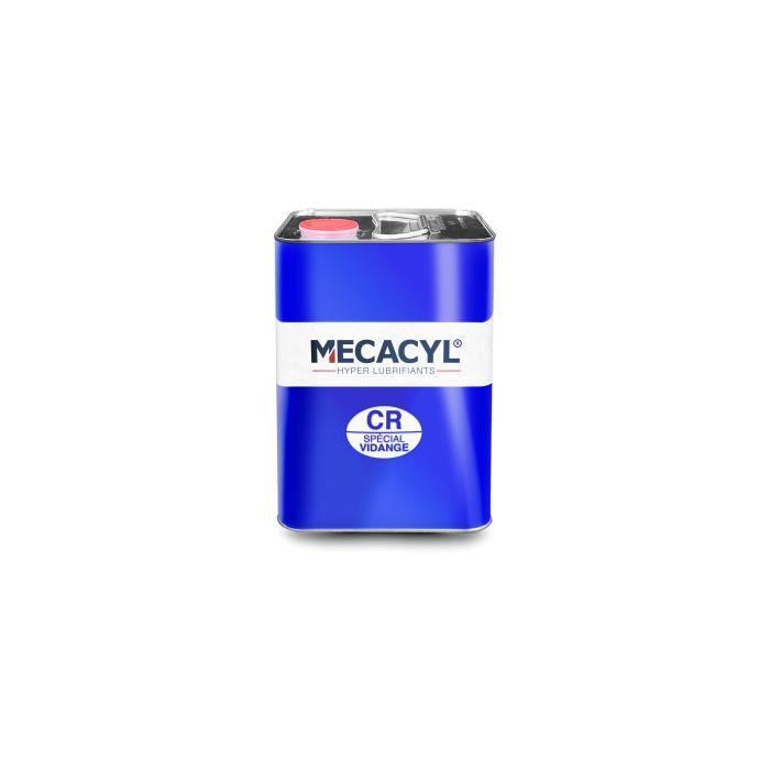 Mécacyl CR - Bidon 1 litre - Hyper-Lubrifiant - Spécial Vidange Moteurs 4 temps - Essence, Diesel, Hybride, Gaz
