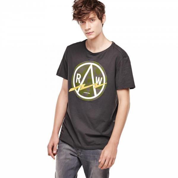 T-Shirt G-Star Bauchan Raven