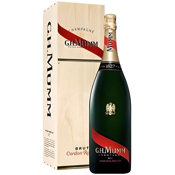 Mumm Cordon Rouge - Salmanazar - Champagne AOC