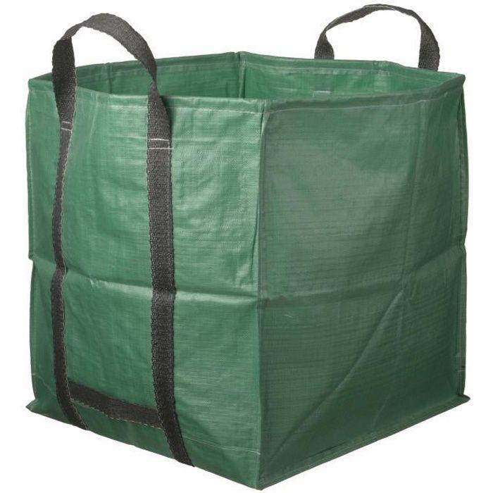 NATURE Sac à déchets multi-usages avec poignées - 252 l - 60x60x70 cm
