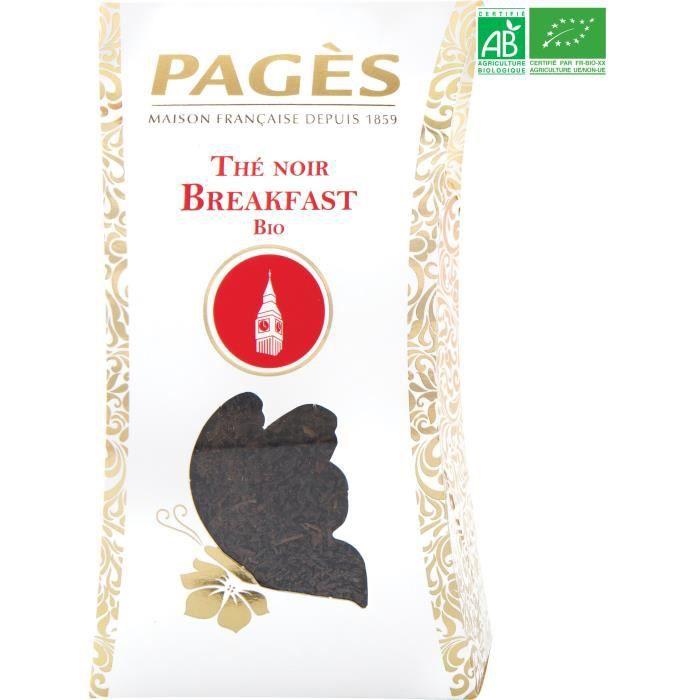 PAGES Thé Noir Breakfast - Vrac - Bio