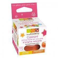 SCRAPCOOKING - Colorant alimentaire naturel orange