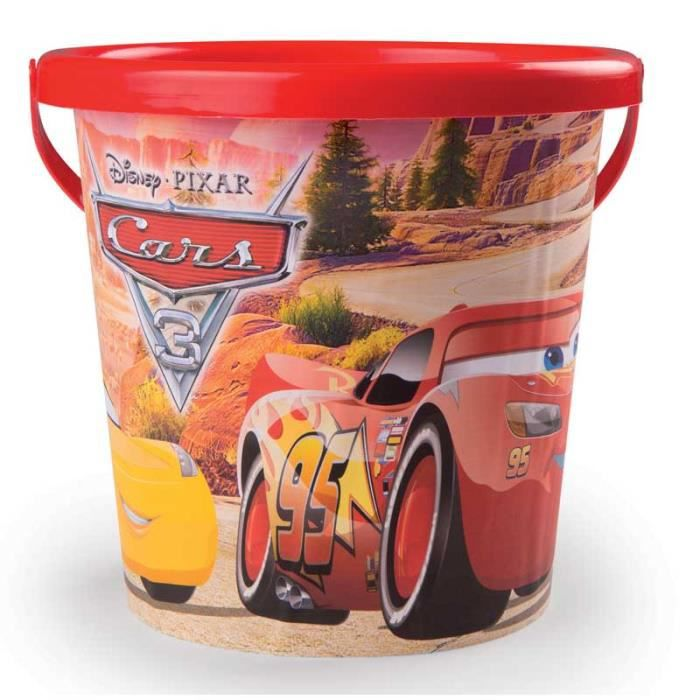 CARS 3 Smoby Seau - Disney