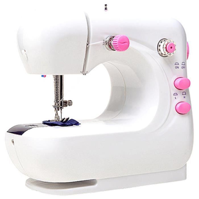 Mini Ordinateur De Poche Portable Machines À Coudre Point Coudre Couture Couture VÊTements Sans Fil Tissus Machine À Coudre Point