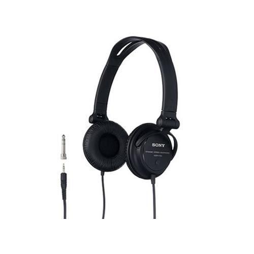 Sony MDR-V150, Supraaural, Bandeau, Avec fil, 16 - 22000 Hz, 2 m, Noir