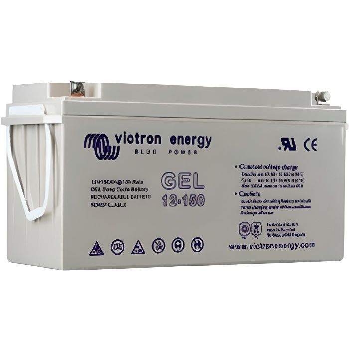Batterie VICTRON GEL 165 Ah 12V