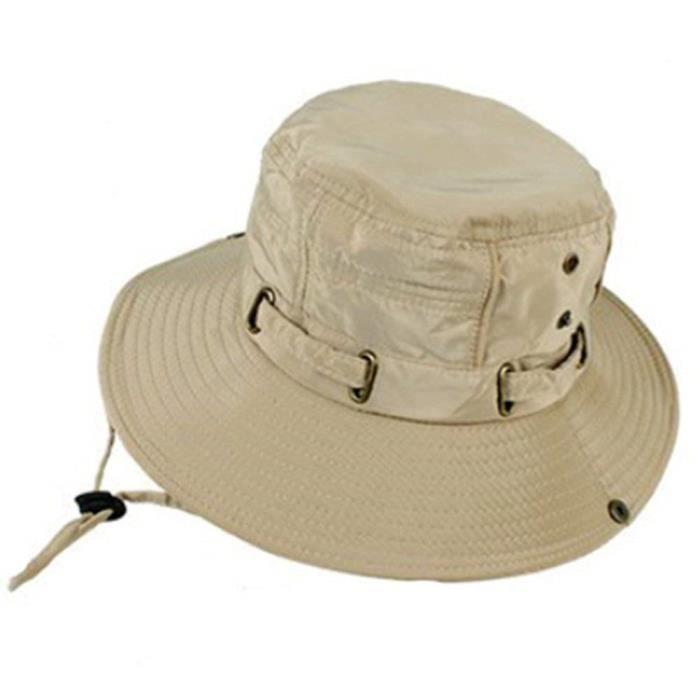 Chapeaux Homme Été Pliable Polyester Matériel pour Camping et Randonnée@M2575