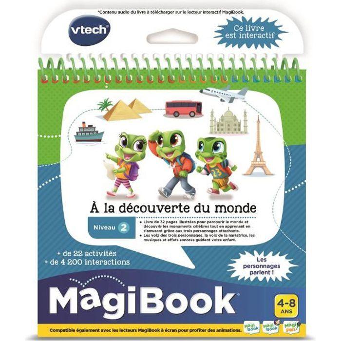 Vtech - Magibook - A la découverte du monde