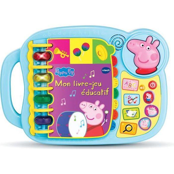 Peppa Pig - Mon livre-jeu éducatif - 1,5 - 5 ans