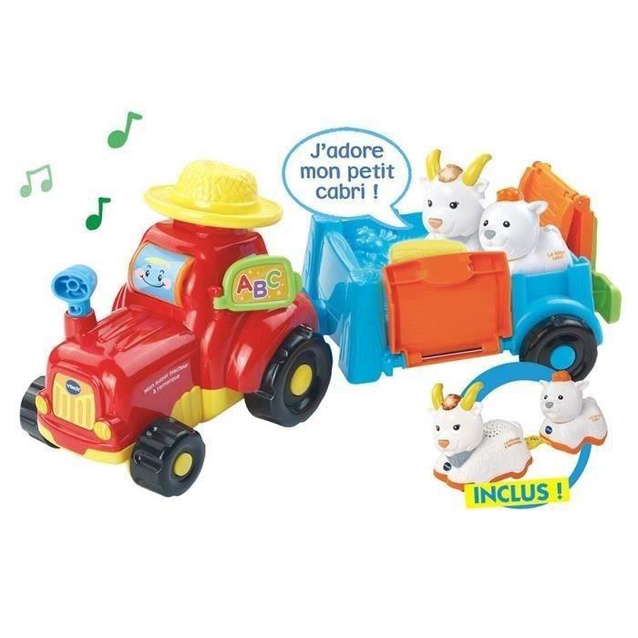 VTECH Mon Super Tracteur A Remorque