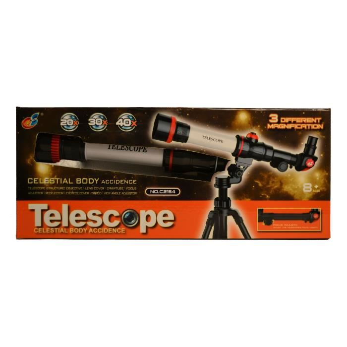 WDK Téléscope avec trépied