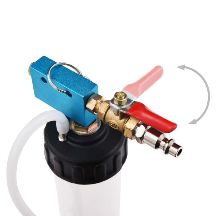 Kits de purge de freins/Pompe de remplacement du liquide de frein - 300 cc - Plastique et métal - noir et blanc et bleu HOP