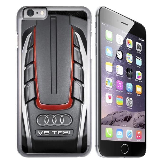 coque audi iphone 8
